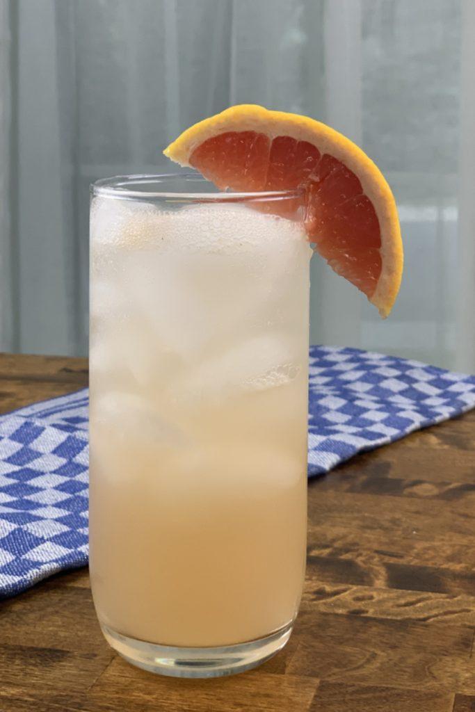 Paloma Cocktail with Grapefruit Juice